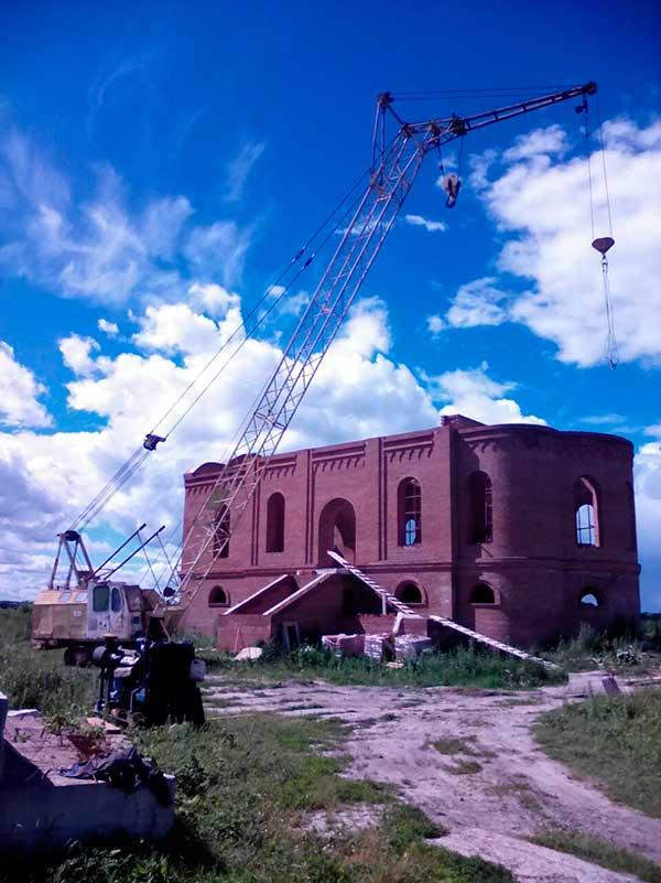 восстановление Лютикова монастыря